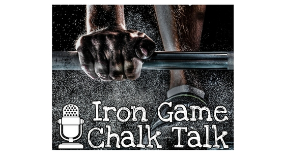 "Iron Game Chalk Talk Podcast – Episode #212 Featuring Tim Anderson – ""Pressing RESET"""